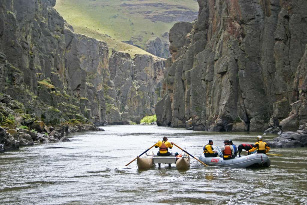 Beautiful Canyons of the Middle Owyhee River