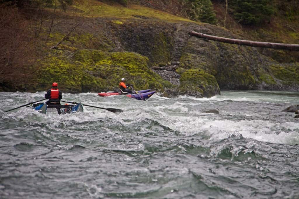 Entering the Narrows on the Upper Clackamas River