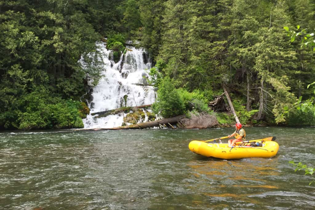 Wonder Falls on the Klickitat River