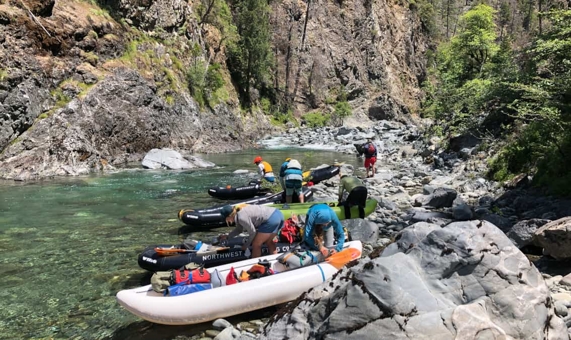 Upper Chetco Morning Rig Inflatable Kayak1