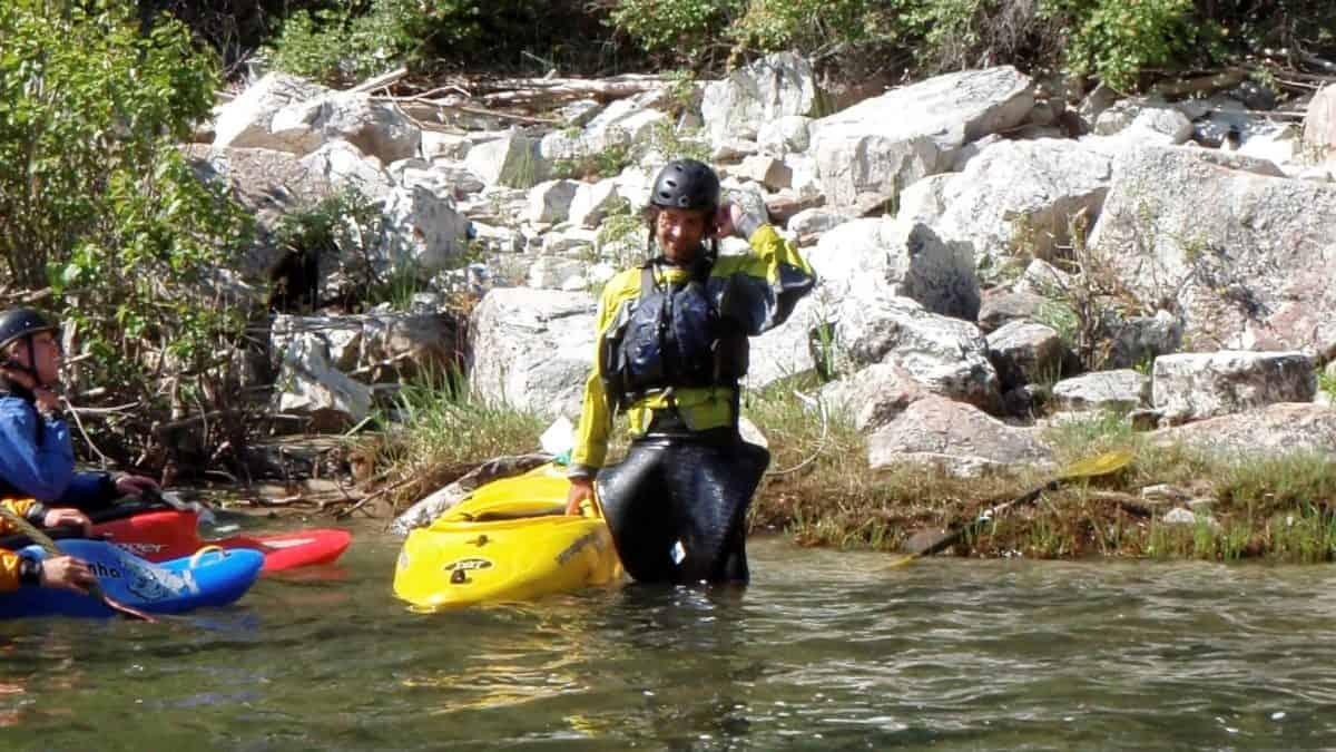 Beginning Kayaker